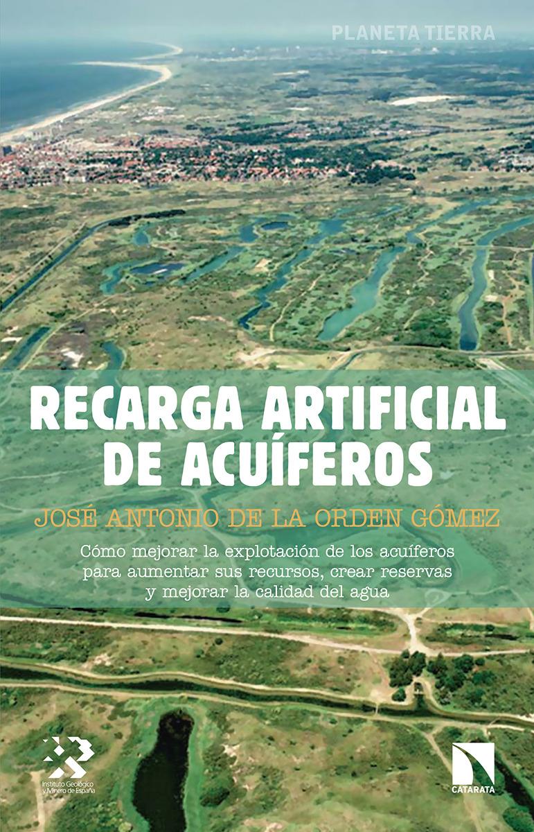 Recarga artificial de acuíferos: portada