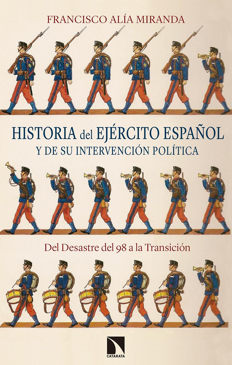 Historia del Ejército español y de su intervención política: portada