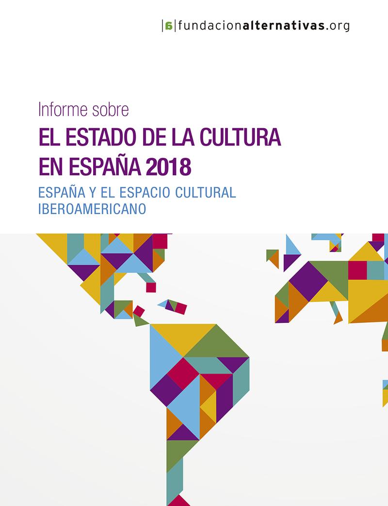 Informe sobre el estado de la cultura en España, 2018: portada