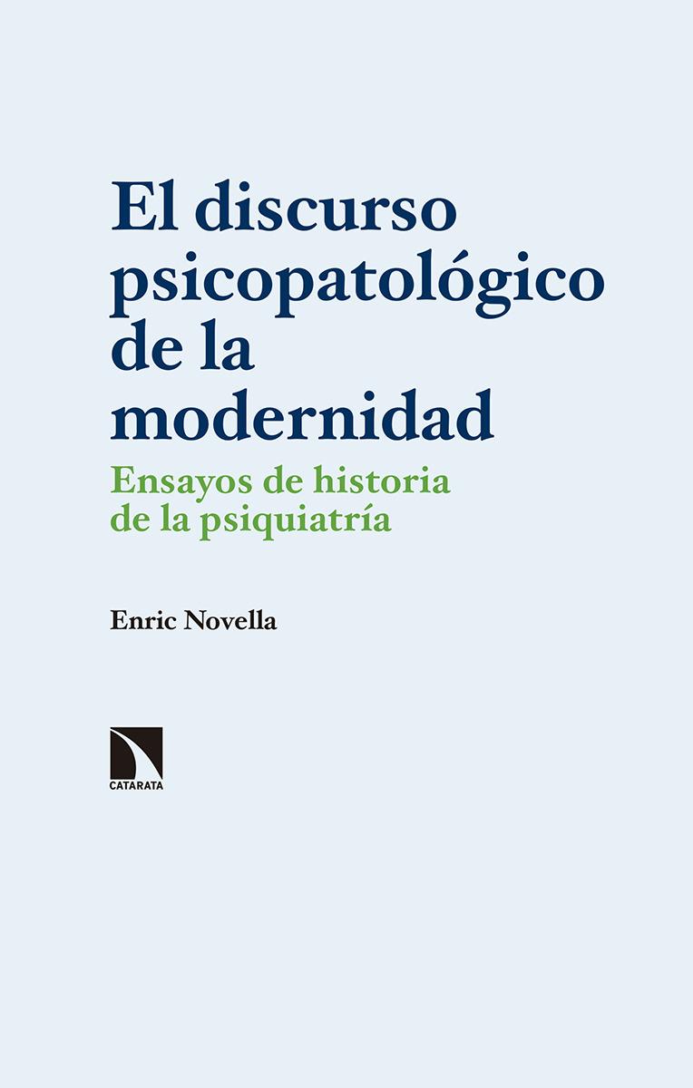 El discurso psicopatológico de la modernidad: portada