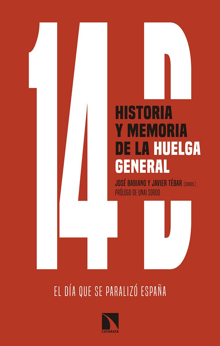 14D, historia y memoria de la huelga general: portada