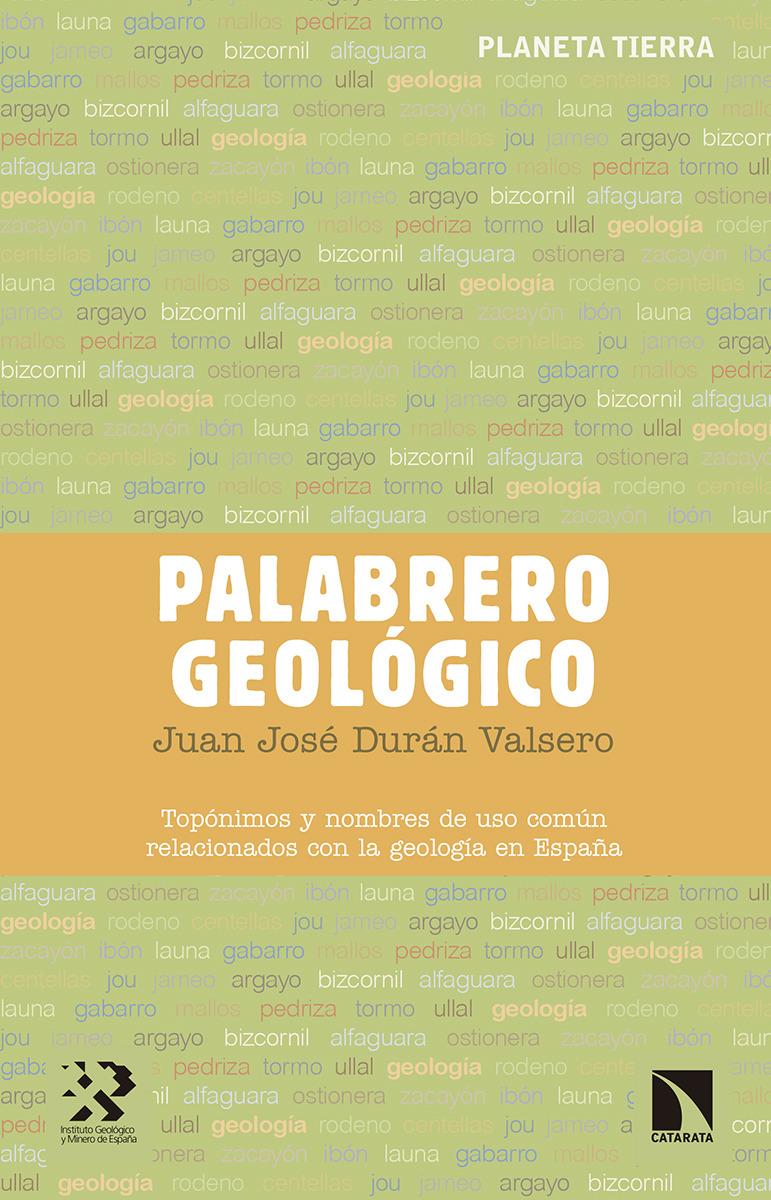Palabrero geológico: portada