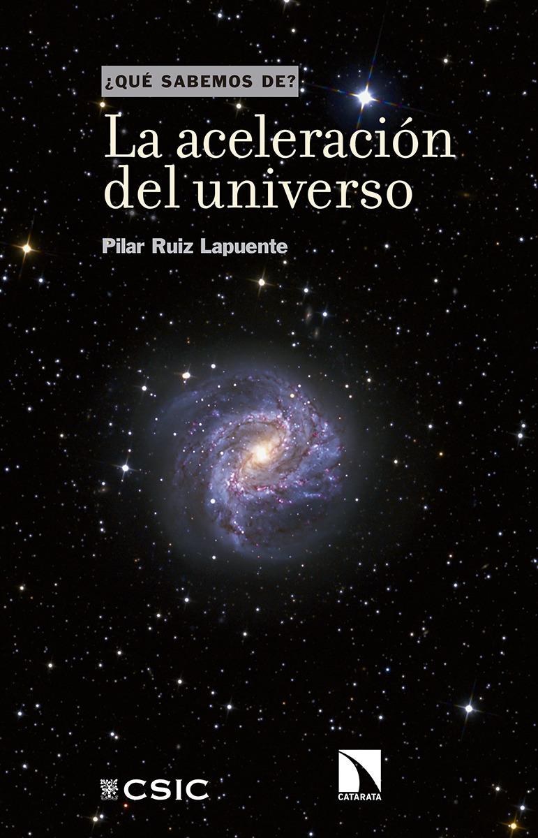 La aceleración del universo: portada