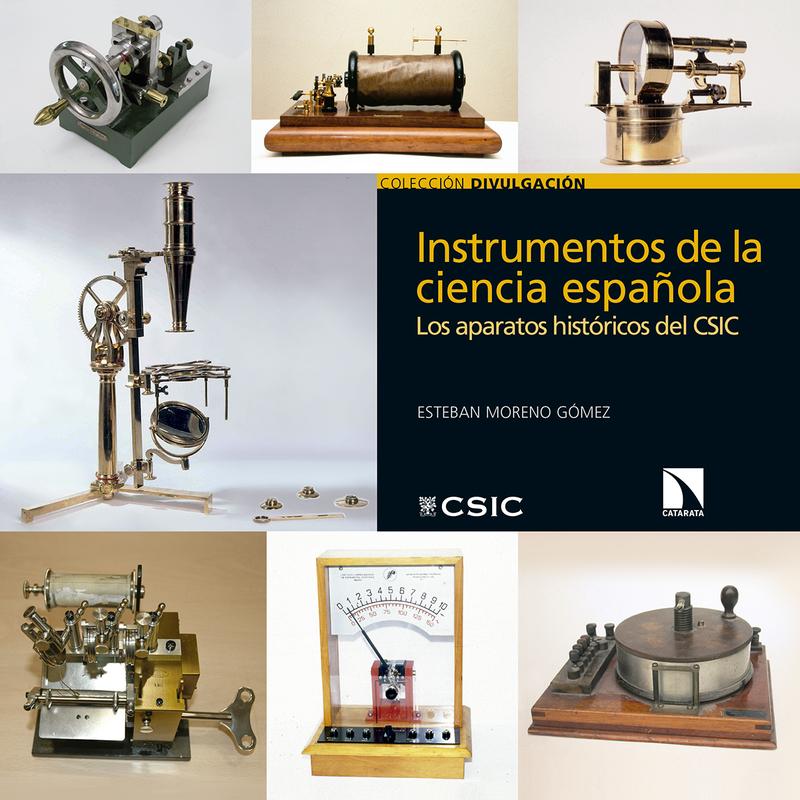 Instrumentos de la ciencia española: portada