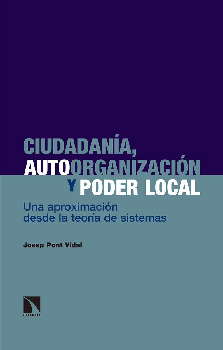 Ciudadanía, autoorganización y poder local: portada