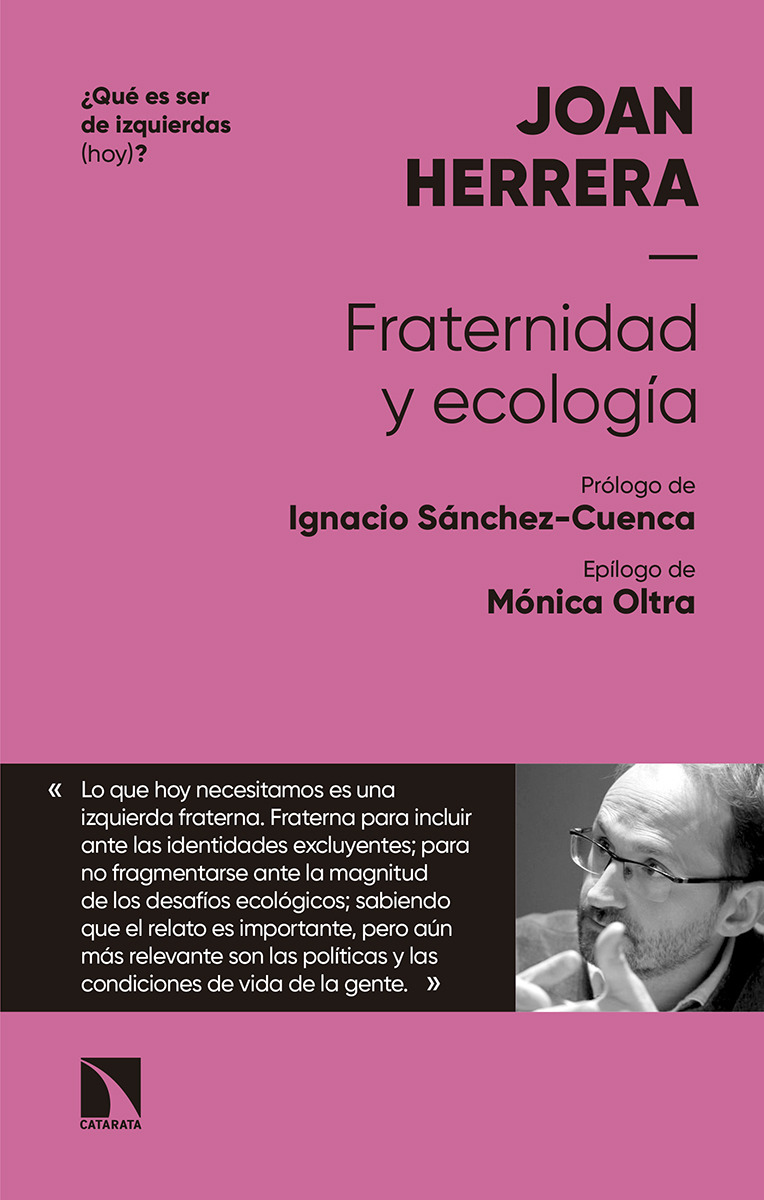 FRATERNIDAD Y ECOLOGÍA: portada
