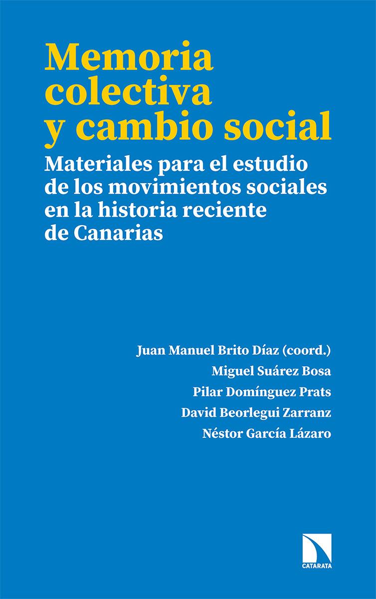 Memoria colectiva y cambio social: portada