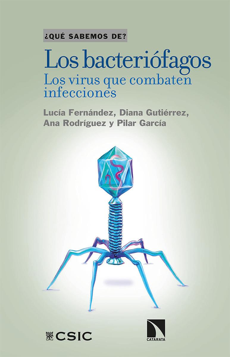 Los bacteriófagos: portada