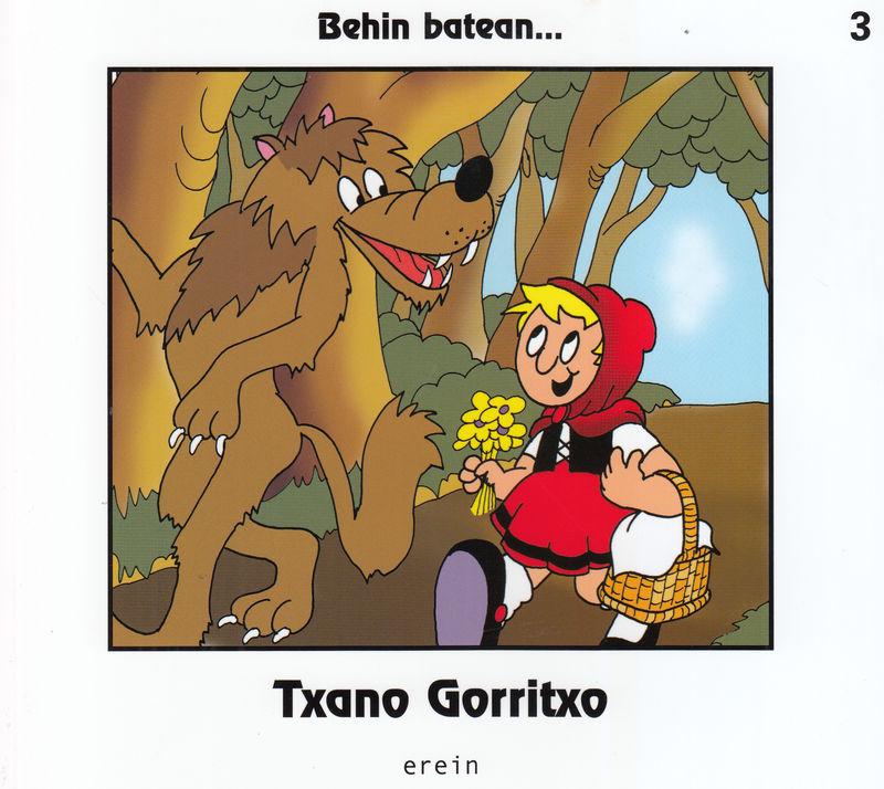 TXANO GORRITXO - EUS: portada