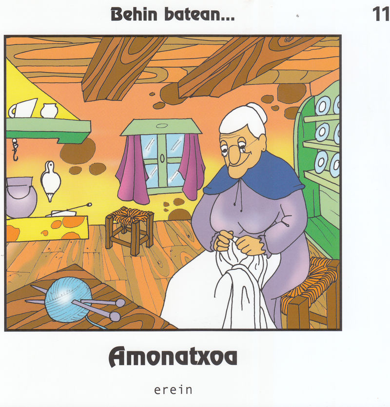 AMONATXOA - EUS: portada