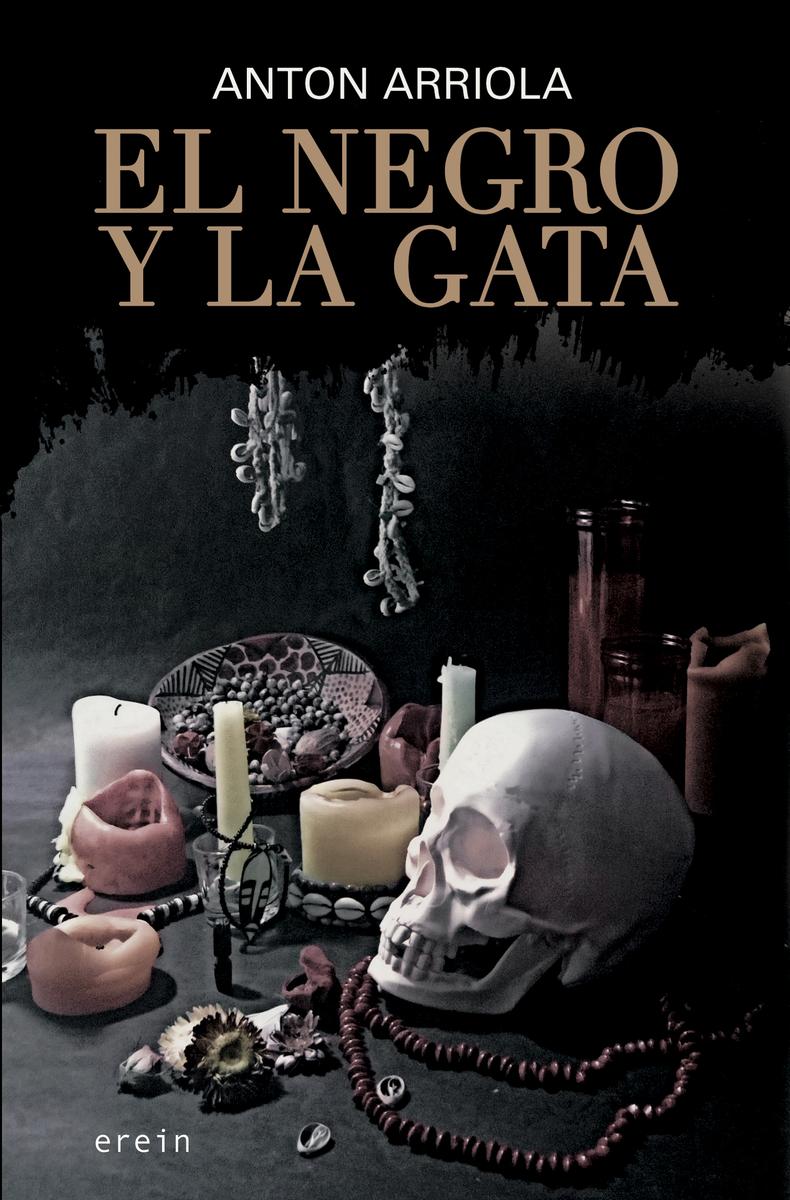 EL NEGRO Y LA GATA: portada