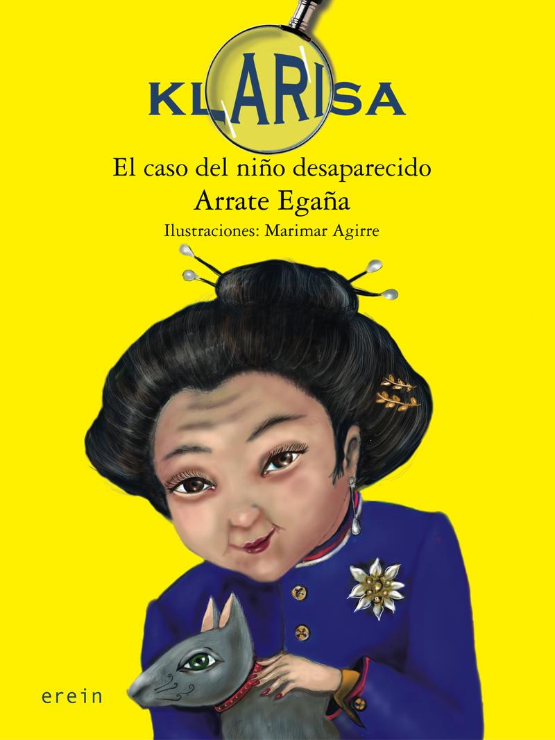 KLARISA. EL CASO DEL NIñO DESAPARECIDO: portada