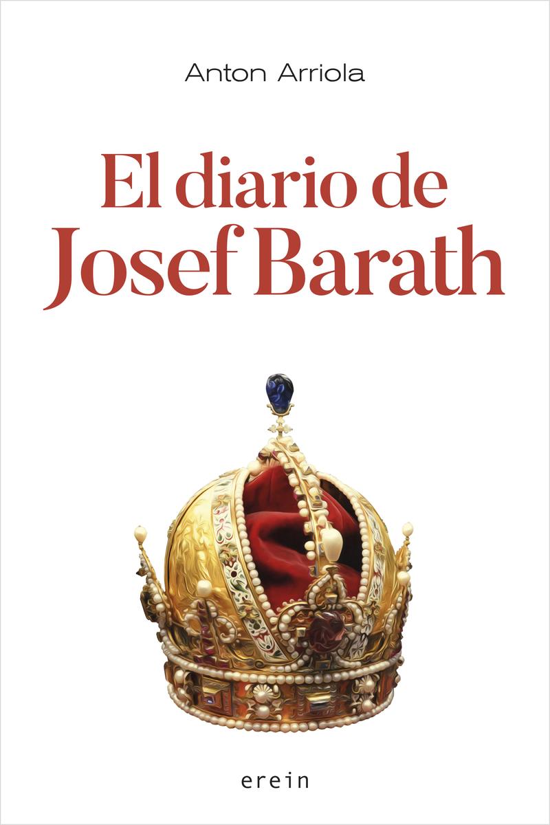 EL DIARIO DE JOSEF BARATH: portada