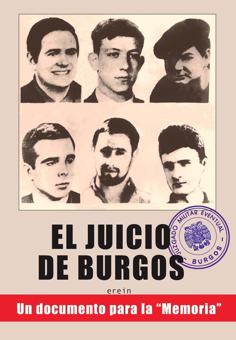 EL JUICIO DE BURGOS: portada