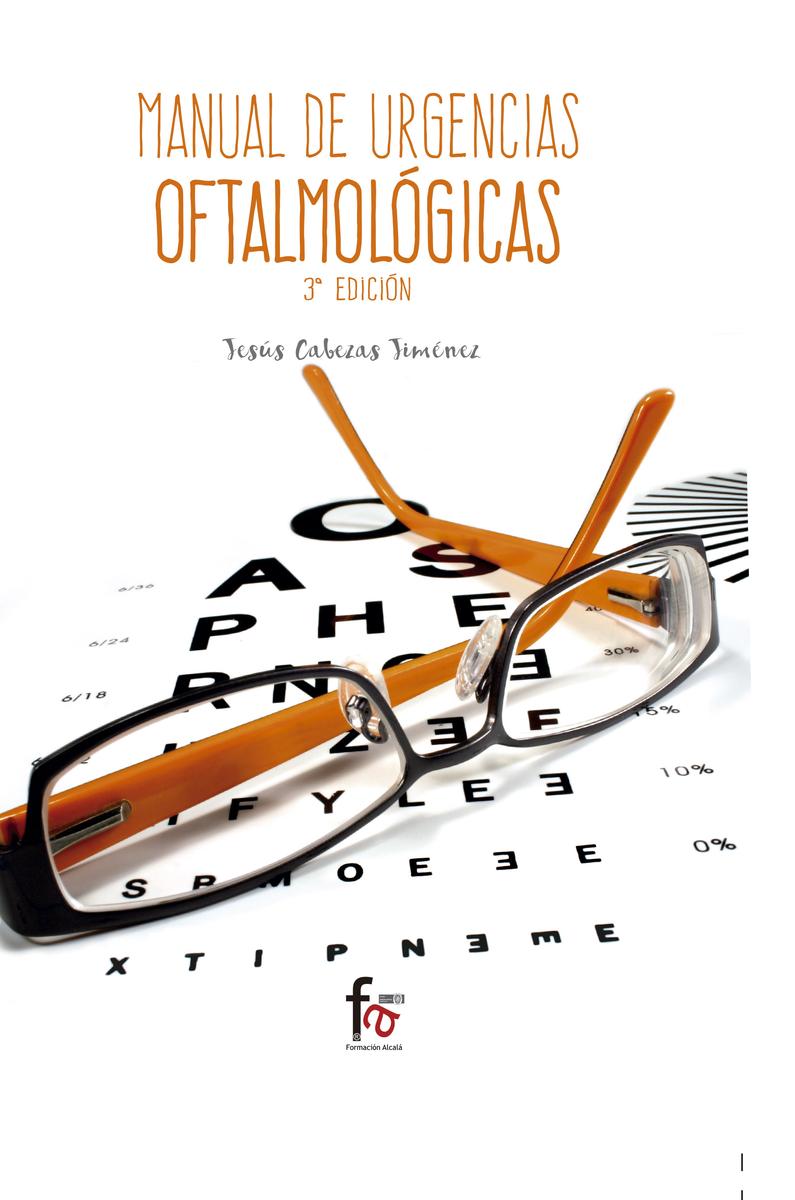 MANUAL DE URGENCIAS OFTALMOFÓGICAS-(3ª edición): portada
