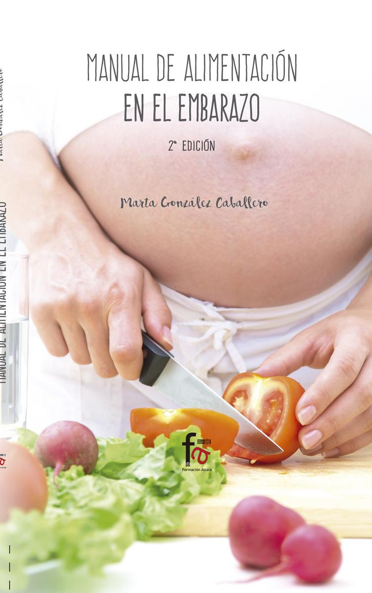 MANUAL DE ALIMENTACIÓN EN EL EMBARAZO-2 EDICIÓN: portada