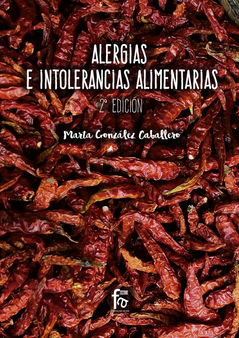 ALERGIAS E INTOLERANCIAS ALIMENTARIAS-2 EDICIÓN: portada
