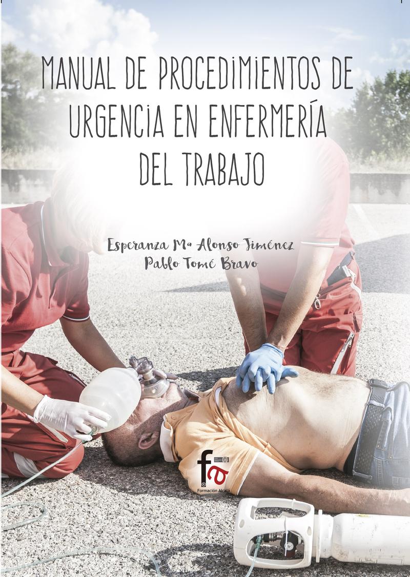 MANUAL DE PROCEDIMIENTOS DE URGENCIAS EN ENFERMERÍA: portada