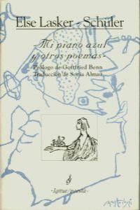 MI PIANO AZUL Y OTROS POEMAS: portada