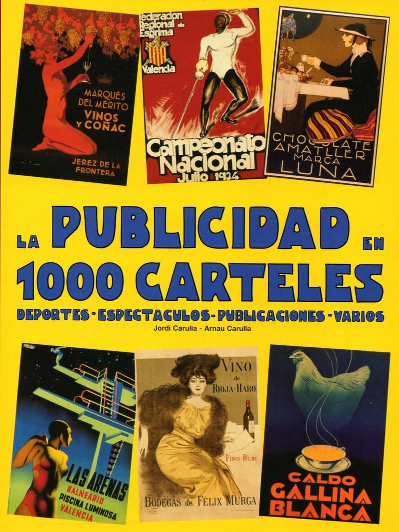 PUBLICIDAD EN 1000 CARTELES,LA: portada