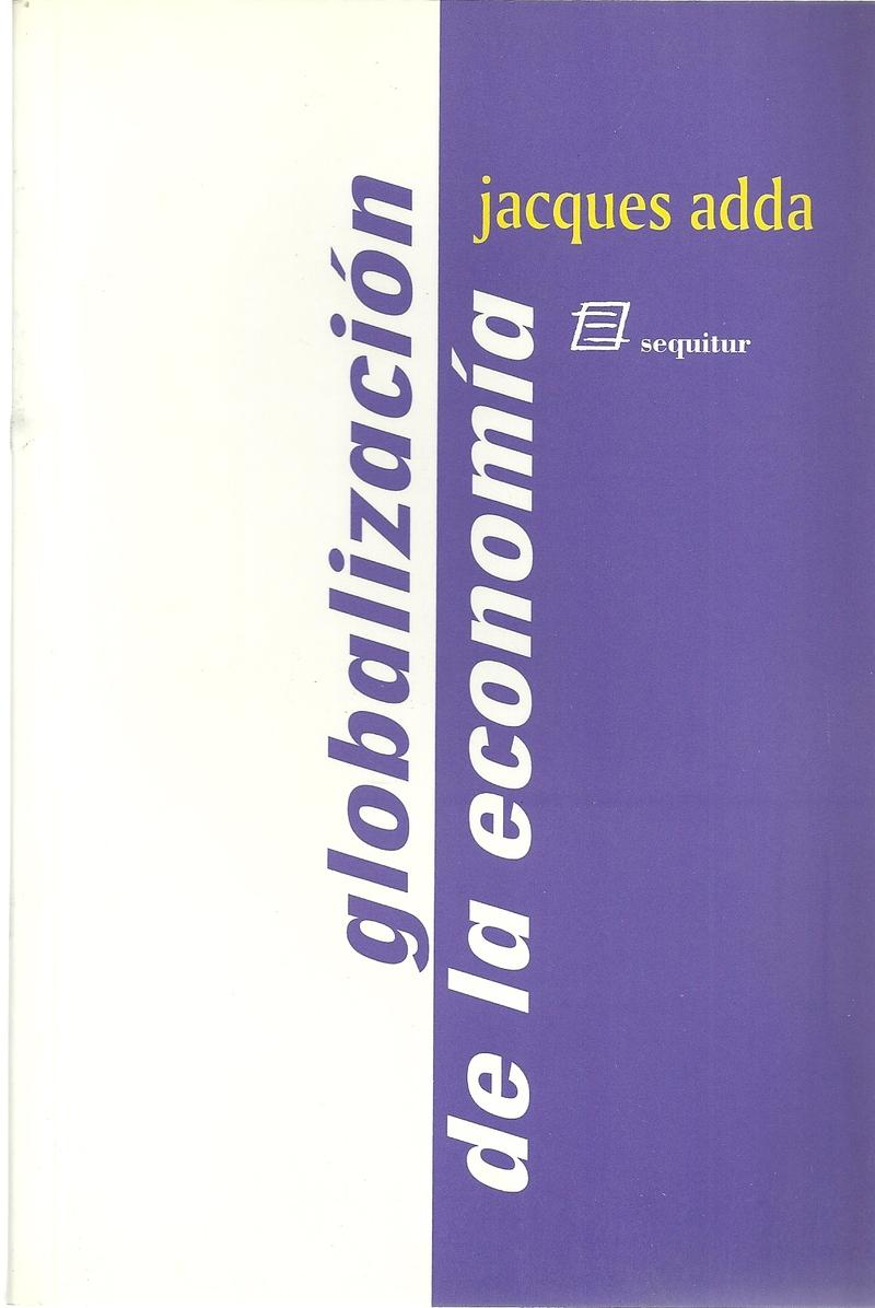La globalización de la economía: portada