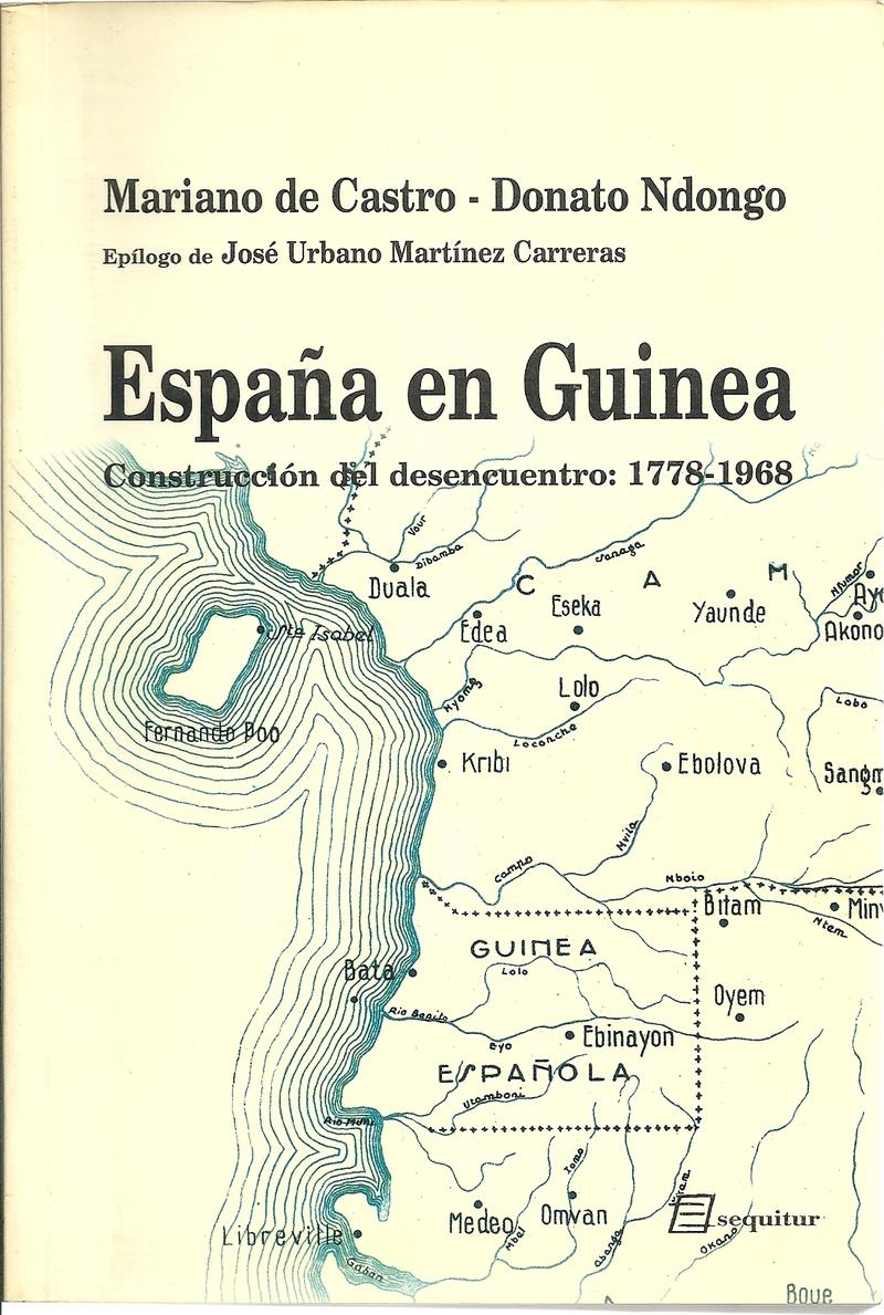 ESPAñA EN GUINEA: portada