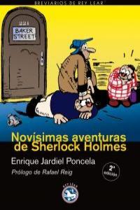 NOVISIMAS AVENTURAS DE SHERLOCK HOLMES: portada