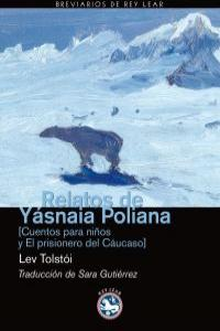 RELATOS DE YASNAIA POLIANA: portada