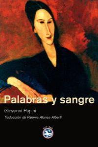 PALABRAS Y SANGRE: portada