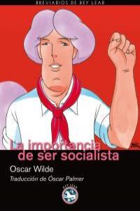 La importancia de ser socialista: portada