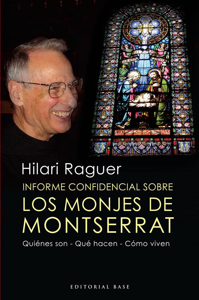 INFORME CONFIDENCIAL SOBRE LOS MONJES DE MONTSERRAT: portada