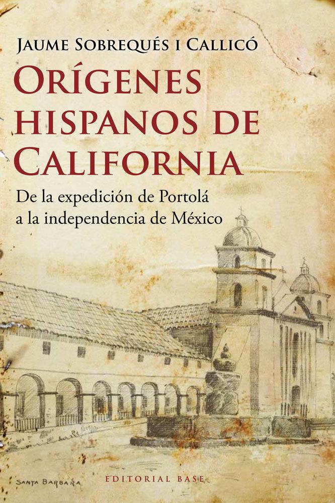 ORíGENES HISPANOS DE CALIFORNIA: portada