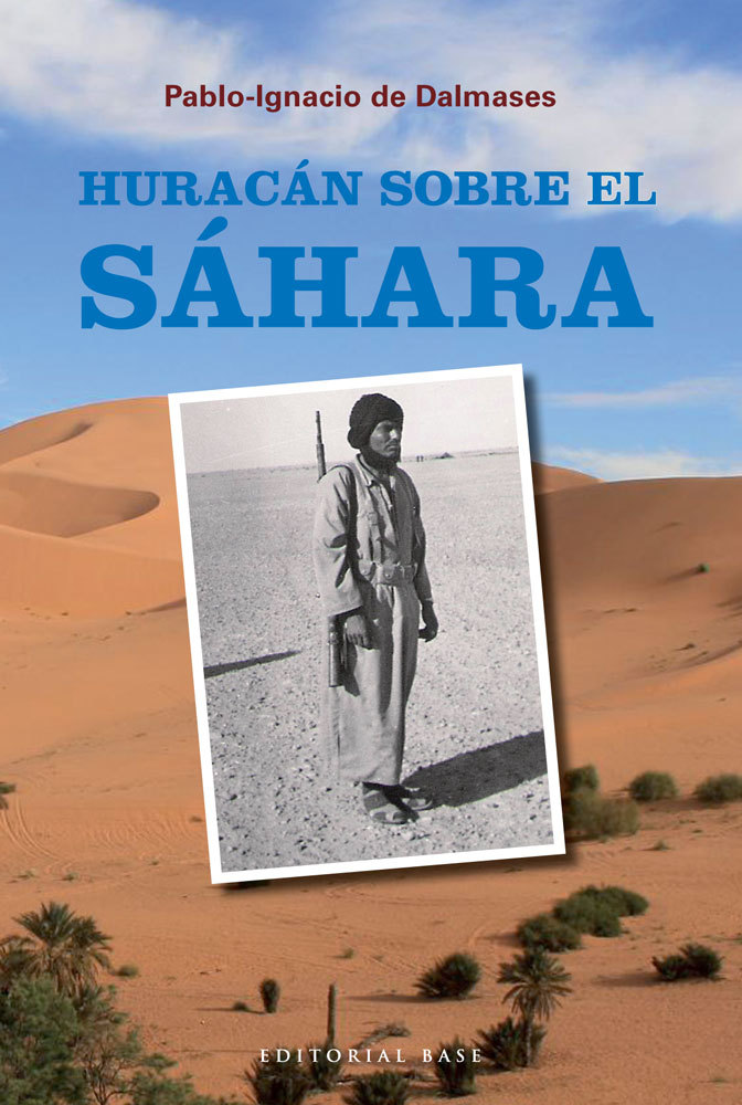 HURACÁN SOBRE EL SÁHARA: portada