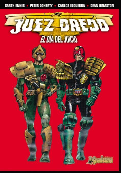 JUEZ DREDD. EL DíA DEL JUICIO: portada