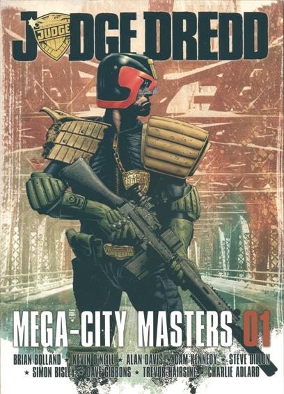 JUEZ DREDD. MEGA-CITY MASTERS 01: portada