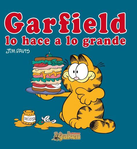 GARFIELD LO HACE A LO GRANDE: portada