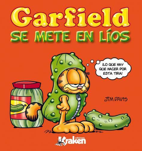 GARFIELD SE METE EN LíOS: portada