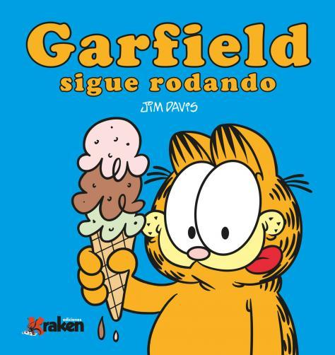 GARFIELD SIGUE RODANDO: portada