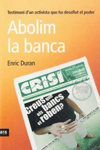 ABOLIM LA BANCA - CAT: portada