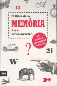 LLIBRE DE LA MEMORIA,EL - CAT: portada