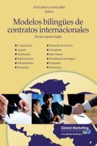 Modelos bilingües de contratos internacionales: portada