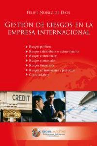 Gestión de riesgos en la empresa internacional: portada