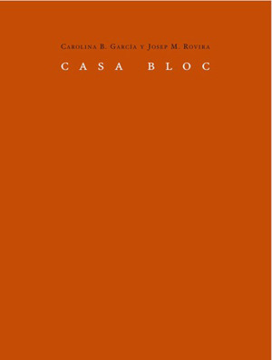 CASA BLOC: portada
