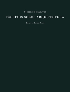ESCRITOS SOBRE ARQUITECTURA: portada