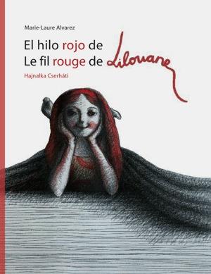 El hijo rojo de Lilouanne/ Le fil rouge de Lilouane: portada
