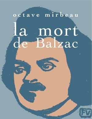 LA MORT DE BALZAC: portada