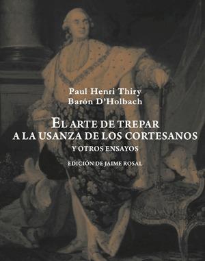 ARTE DE TREPAR A LA USANZA DE LOS CORTESANOS Y OTROS ENSAYOS: portada