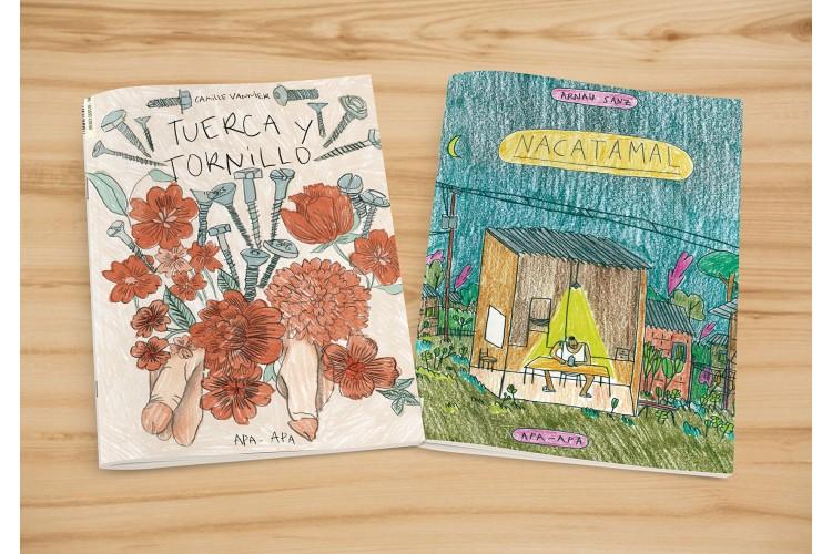 TUERCA Y TORNILLO / NACATAMAL: portada