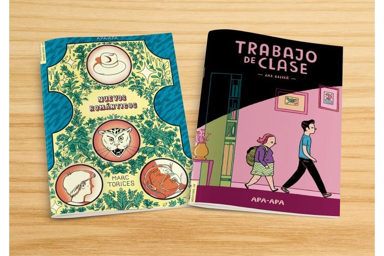 TRABAJO DE CLASE / NUEVOS ROMANTICOS: portada