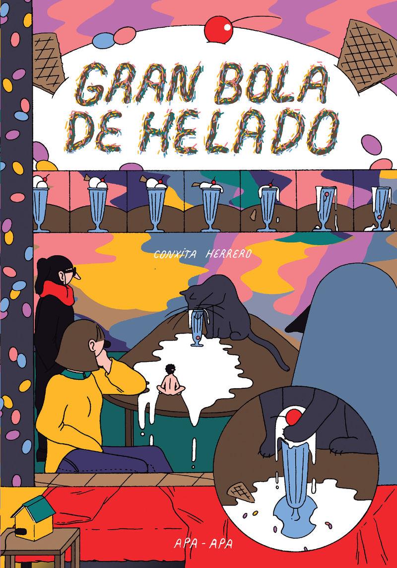 GRAN BOLA DE HELADO: portada